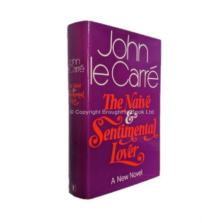 The Naive and Sentimental Lover Signed by John le Carré​​​​​​​ First Edition Hodder & Stoughton 1971